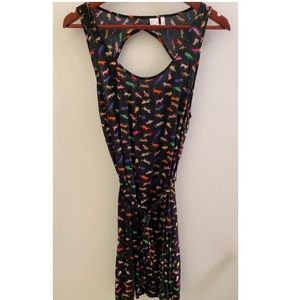 H&M Colourful Animal Print Dress